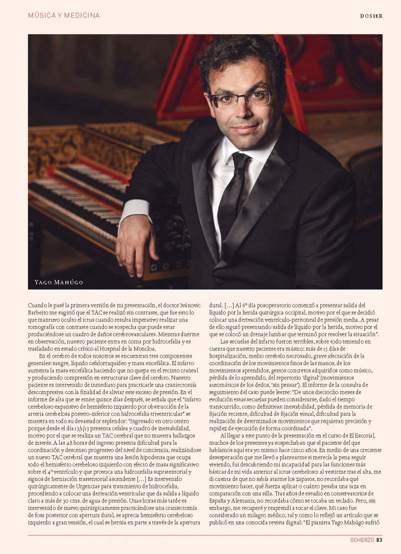Reportaje en la Revista Scherzo