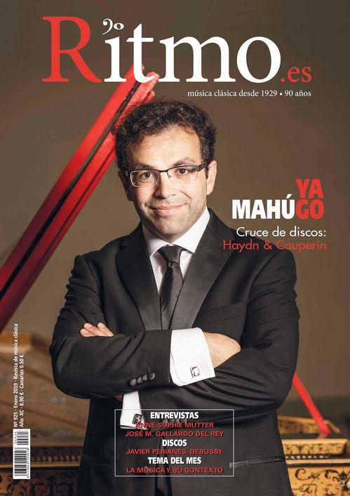 Portada y entrevista principal en la revista Ritmo
