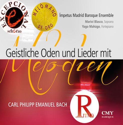 Geistlichen Lieder und Oden mit Melodien. Carl Philipp Emmanuel Bach