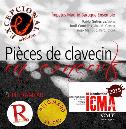 Pièces de Clavecin en Concerts. Jean Phillippe Rameau