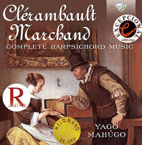 Clérambault & Marchand. Obras completas para clave.